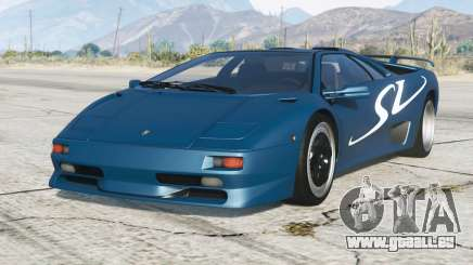 Lamborghini Diablo SV 1997〡PJ2 add-on pour GTA 5