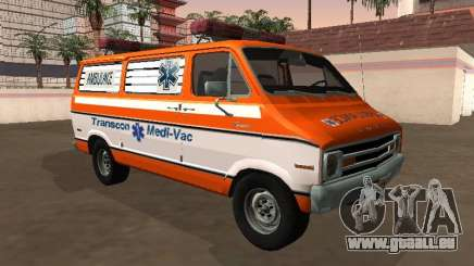 Dodge Tradesman B-200 1976 Krankenwagen für GTA San Andreas
