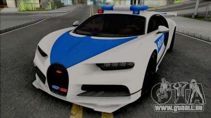Bugatti Chiron Police pour GTA San Andreas