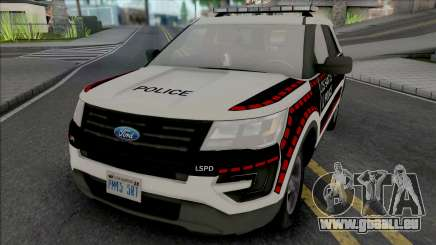 Ford Explorer 2016 Bosnian Livery Style pour GTA San Andreas