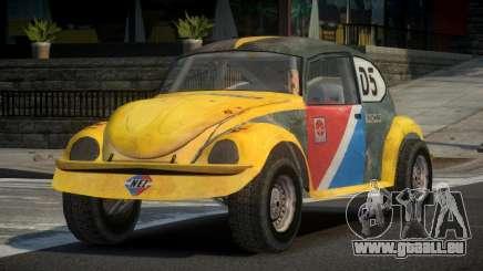 Volkswagen Beetle Prototype from FlatOut PJ1 pour GTA 4
