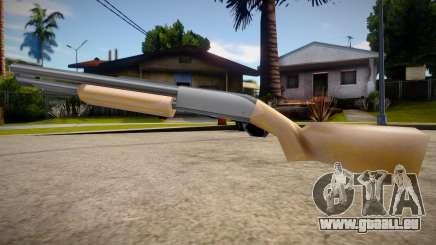 Chromegun HD (good textures) pour GTA San Andreas