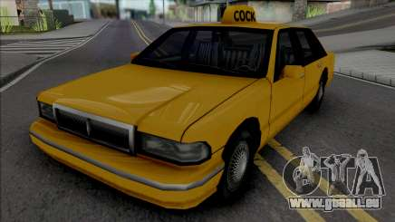 James Mays Approved Taxi pour GTA San Andreas