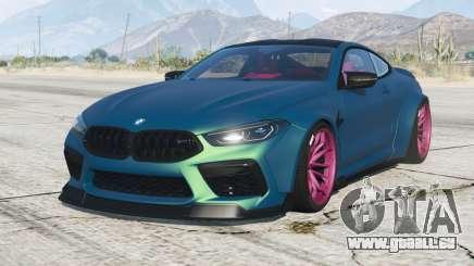 BMW M8 Competition coupe Mansaug (F92) 2019 v2.1 pour GTA 5