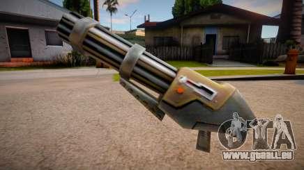 Quake 2 Chaingun für GTA San Andreas