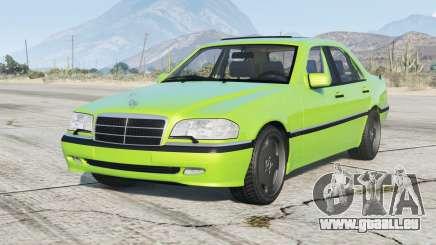 Mercedes-Benz C 200 Elegance (W202) 1998〡add-on v1.2 pour GTA 5
