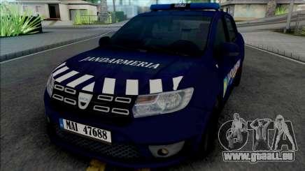 Dacia Logan 2018 Jandarmerie pour GTA San Andreas