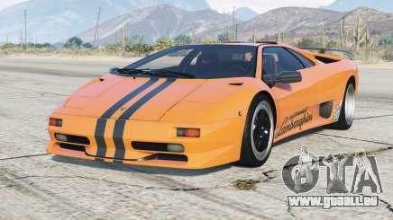 Lamborghini Diablo SV 1997〡PJ7 add-on pour GTA 5