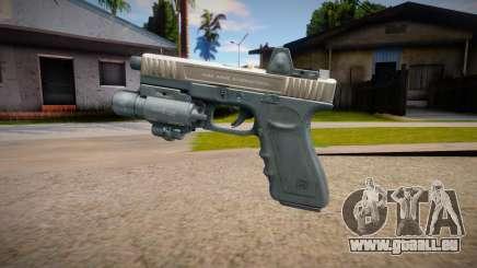 Glock-17 DevGru (Contract Wars) für GTA San Andreas