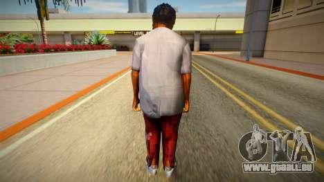 Homme sans-abri de GTA 5 v10 pour GTA San Andreas
