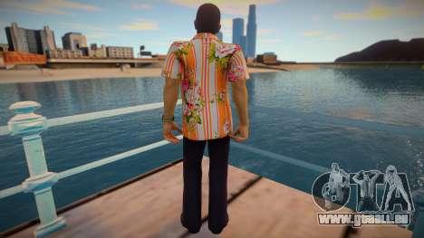 Rikiya Shimabukuro - Yakuza 3 für GTA San Andreas