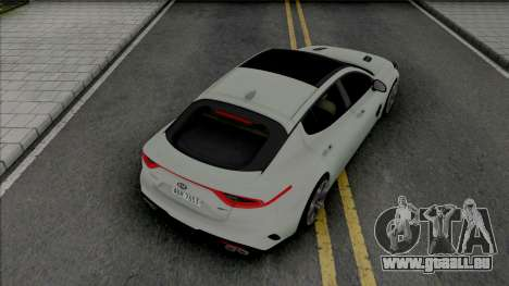 Kia Stinger GT [HQ] pour GTA San Andreas