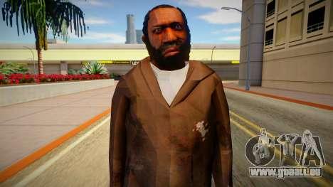 Homme sans-abri de GTA 5 v8 pour GTA San Andreas