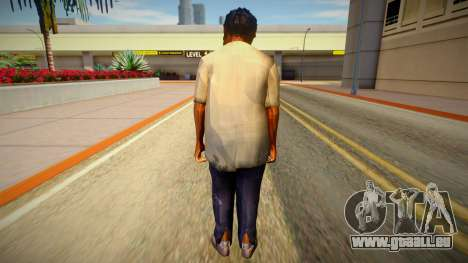 Homme sans-abri de GTA 5 v7 pour GTA San Andreas