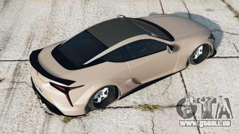 Lexus LC 500 Liberty Walk 2017〡add-on