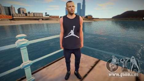 Jordan Skin pour GTA San Andreas