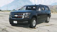 Chevrolet Suburban LTZ 2015〡Secret Service〡add-on v1.1 pour GTA 5