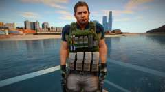 Chris Redfield from Resident Evil 6 Skin pour GTA San Andreas
