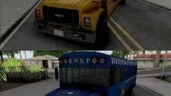 GTA V Brute Prison and School Bus