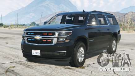 Chevrolet Suburban LTZ 2015〡Secret Service〡add-on v1.1 pour GTA 5
