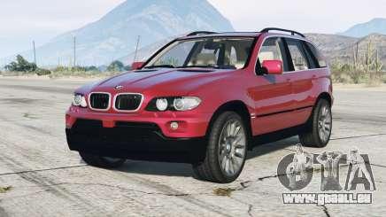 BMW X5 4.8is (E53) 2005 v1.1 pour GTA 5
