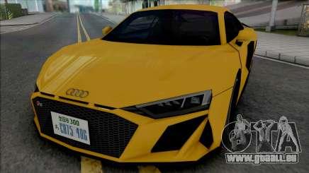 Audi R8 V10 2019 (SA Style) für GTA San Andreas