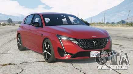 Peugeot 308 Hybrid 2021 pour GTA 5