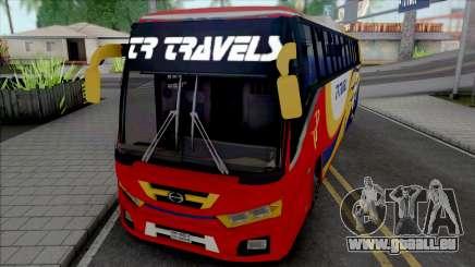 Hino AK1J non AC Bus [IVF] für GTA San Andreas