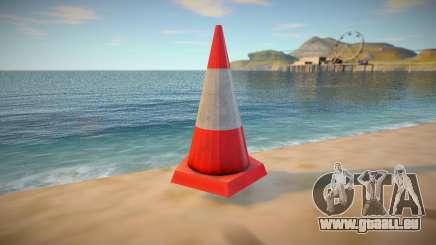 HQ Traffic Cone pour GTA San Andreas