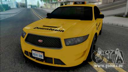 Vapid Torrence Taxi Downtown pour GTA San Andreas