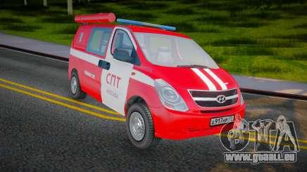 Hyundai H-1 Starex Feuerwehr Russland für GTA San Andreas
