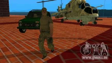 Agent de la CSN du CSF pour GTA San Andreas