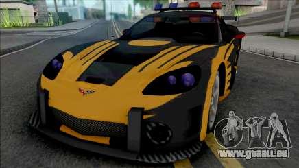 Chevrolet Corvette C6 (Cross from NFS MW Intro) für GTA San Andreas