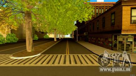 Real Roads and GTA IV Textures pour GTA San Andreas