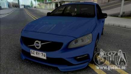 Volvo V60 T6 für GTA San Andreas