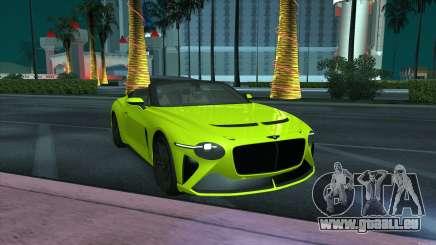 Bentley Mulliner Bacalar pour GTA San Andreas