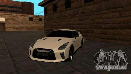 Nissan GT-R R35 White Body für GTA San Andreas
