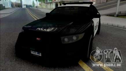 Vapid Torrence Police Las Vanturas für GTA San Andreas