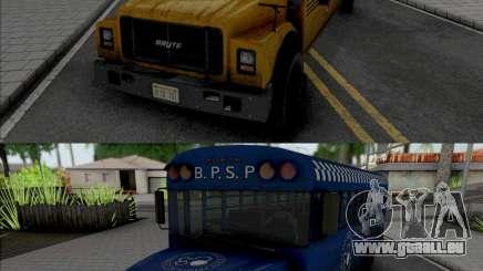 GTA V Brute Prison and School Bus pour GTA San Andreas