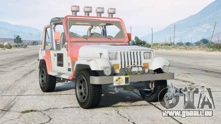 Jeep Wrangler Jurassic Park (YJ) 1993〡add-on v0.2 pour GTA 5