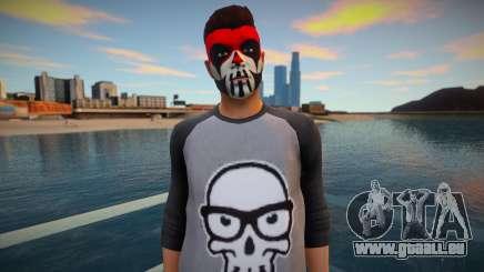 Caractère dans le maquillage de GTA Online pour GTA San Andreas