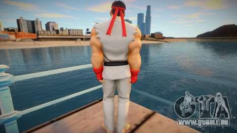 Ryu skin pour GTA San Andreas
