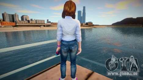 Sam Samsung Casual (Jeans) pour GTA San Andreas