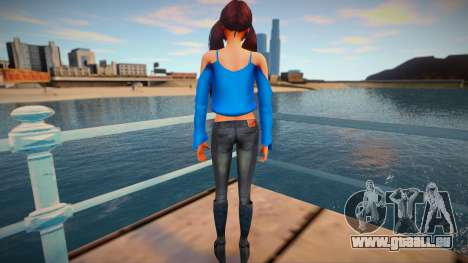 Female Sims 4 pour GTA San Andreas