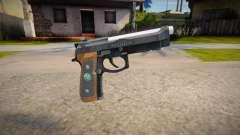 RE2: Remake - Samurai Edge Colt v3 pour GTA San Andreas