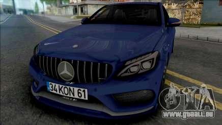 Mercedes-Benz C200 W205 AMG für GTA San Andreas