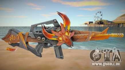 M4A1 Flama Free Fire für GTA San Andreas