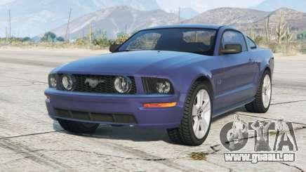 Ford Mustang GT 2005〡graue Felgen〡add-on für GTA 5