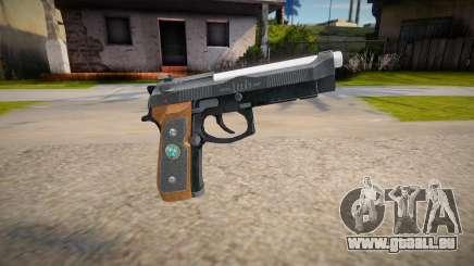 RE2: Remake - Samurai Edge Colt v3 für GTA San Andreas