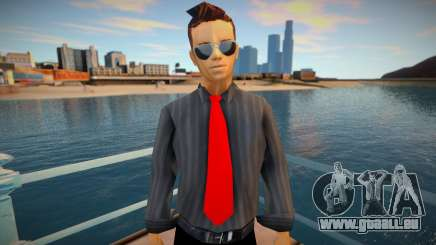 Claude Speed New Suit Combine pour GTA San Andreas